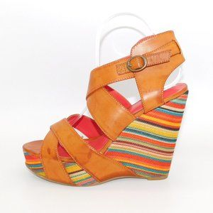 """Kenneth Cole """"Bend The Rules"""" Retro Wedge"""